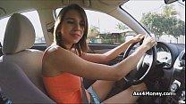 Banging teen big tit uber driver Preview