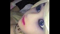 Terminando dentro de mi Amanda doll