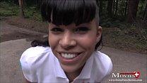 Blowjob im Wald bis zum Donner mit Amanda Jane - SPM Amanda24TR113 Vorschaubild