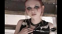 Liz Vicious  Teaser Goth Girl
