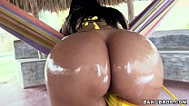 Super Sized Oiled up Butt