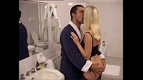 A rich couple fuck in their bathroom video