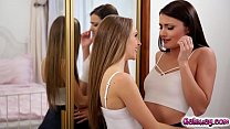 Kimmy Granger kissing Adria Rae so hot and passionately