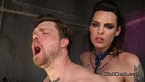 Tranny in latex anal bangs hairy guy