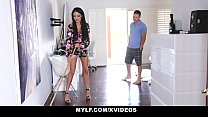 MYLF - Beautiful French Cougar (Anissa Kate) Gets Pounded By Big Cock Stepson