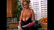 Busty Housewife Cleans Then Titty Fucked