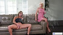 Zoey Monroe and Christy Love squirting at Girlsway