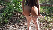 Tomando Gozada no Cú na Floresta