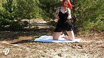 Outdoor Striptease Nina Devil Vorschaubild
