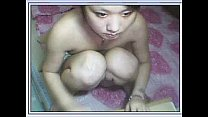 Petite Chinese girl spreading her legs on cam