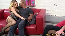 Swinger Party Turns Cuckolding - Britney Young and Lola Hart