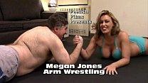 Megan Jones vs Frank Arm Wrestling Match thumbnail