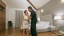 Officer And Wife Fucks In Front Of A Pathetic Criminal - Alexis Fawx