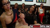 36 Massive  CFNM club orgy women sucking dick 21 ~ sexy maid thumbnail