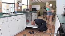 Appliance Repair Guy Foot Fetish Pervert Foot Fetish Footjob ~ elephabttube thumbnail