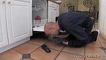 Appliance Repair Guy Foot Fetish Pervert Foot Fetish footjob