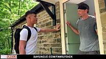 Son Massages Dad's Sensitive Areas- Kendrick Thomas,James Keresford
