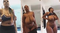 black girl with fat ass and big tits