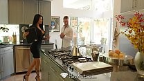 PUREMATURE Busty MILF real estate agent Romi Rain fucked by big dick thumbnail