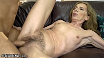 21Sextreme Bushy Granny Joined by Stud in Shower preview image