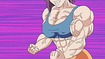 Nerdy girl muscle expansion