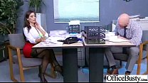 Sex Tape In Office With Big Juggs Horny Girl clip-30