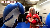 Busty Bouncy Boxing Girl