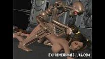 Robot Fucks 3d Teen! thumbnail
