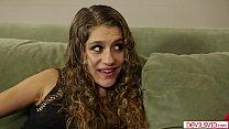 Horny teen fucked by her bffs stepdad
