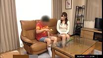 Retard son wants to fuck Japanese babysitter缩略图