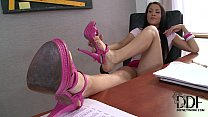 15915 Hot Latina Samia Duarte's Kinky Study Session In Foot Jobs preview