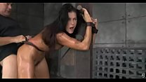 Slut gets tied and fucked and receives a creampie - porn ileana thumbnail