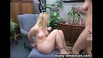 Busty Amateurs Playing Their Pussy With Dildo