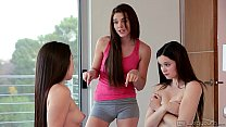Kiera Winters, Lola Foxx and Jenna J Ross at WebYoung