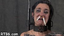 Hot serf delights with oral sex