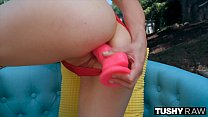 TUSHYRAW Charley Chaplin lives for cocks deep in her ass image