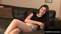 18 Year Old Miranda Miller Gets Nailed In Her T...