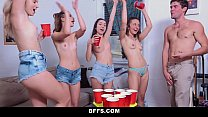 Download video bokep BFFS - Dorm Party Sex Tape Leaked 3gp terbaru