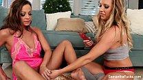 Samantha Saints Lesbian Christmas