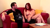 Redhead big boobs anal fucked by a cop