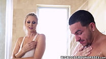 Curvy MILF with big hooters dicked in the shower by stud - 69VClub.Com