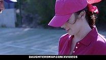 DaughterSwap - Cute Tennis Girls Fucked by Stepdads pornhub video