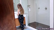 Teen newbie in pov porno