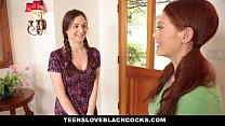 TeensLoveBlackCocks - Cute Redhead Alice Green Rides Big Black Cock