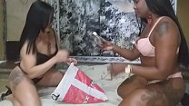 A hot whore with a couple Bianca Naldy and complete Husband on the red