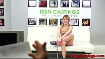 b. casting audition for restrained teen