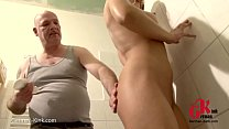 Teeny caught and tormented by the caretaker! Wa...