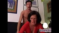 Grandma Wants It Hard And Rough On The Bed preview image