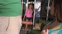 BANGBROS - Carter Cruise Finds Her Stepmom Sara Jay Blowing Peter Green