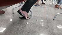 girl with beautiful feet